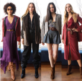 Brieana, Larena, Briana, Elyse for Chelsea & Walker - featured in Women's Wear Daily
